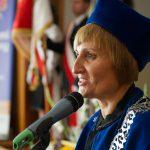 Dziekan Wydziału Zarządzania i Turystyki dr Jolanta Stanienda