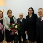 Prof. E. Górska z członkami tarnowskiego oddziału Polskiego Towarzystwa Ergonomicznego