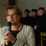 Prof. Ewa Górska w trakcie wykładu inauguracyjnego