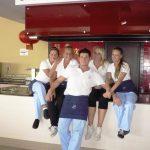 Grupa studentów odbywających praktykę w Hotelu Zeus Cosmopolitan na Rodos