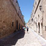 Rodos - uliczka Starego Miasta