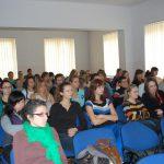 Studenci uczestniczący w wykładzie partentów z Chorwacji
