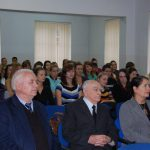 Władze Uczelni podczas wykładu gości z Chorwacji