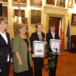 Dr Renata Smoleń, dyr. Danuta Nosek, Ewa Tutaj i Paulina Baranowska