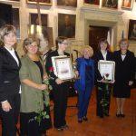 Dr Renata Smoleń, dyr. Danuta Nosek, Ewa Tutaj, wiceprezydent Tarnowa Krystyna Latała, Paulina Baranowska, dr Jolanta Stanienda
