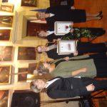 Nagrodzone studentki wraz z dziekanami MWSE i p. Danutą Nosek, Dyrektorem ds. Ekonomicznych Szpitala im. e Szczeklika w Tarnowie