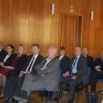 Członkowie Rady Patronackiej podczas spotkania na auli