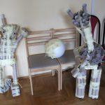 Roboty wykonane przez uczestników warsztatu
