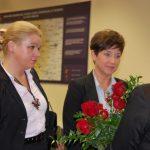 Dr Renata Żaba-Nieroda i wicekanclerz mgr Renata Mielak