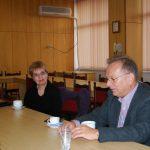 Trakia University - prof. Stefanka Georgieva i prof. Leszek Kozioł w gabinecie dziekana