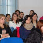 Studenci Pedagogiki podczas wykładu
