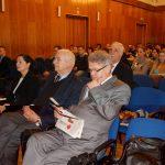 Uczestnicy seminarium, w pierwszym rzędzie od prawej: mgr Witold Zych, rektor prof. Michał Woźniak, kanclerz mgr Zofia Kozioł