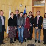 Trakia University - zdjęcie grupowe pracowników MWSE i pracowników Trakia University
