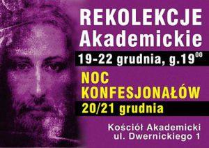 noc konfesjonałów plakat