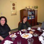 Spotkanie w gabinecie Rektora. Od lewej Prof. Androniki Kavoura, MSc Marikita Papamichalis, Kanclerz Mgr Zofia Kozioł