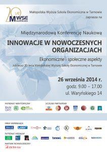 Konferencja INO 2014 plakat