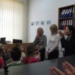 Wizyta przedszkolaków w Dziale Nauczania