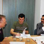 Studenci z Turcji oraz prof. L. Kozioł podczas zajęć w Katedrze Zarządzania