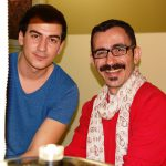 Dwóch studentów z Turcji