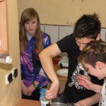 Studenci z Chorwacji w trakcie gotowania