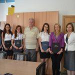 Grupa seminaryjna prof. Fedira Khmila z promotorem