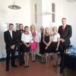 Absolwenci specjalności Zarządzanie firmą z promotorem dr Renatą Żabą-Nierodą