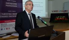 Alexandros Sahinidis, PhD przedstawił temat Exploring Corporate Social Responsibility practices of Greek companies
