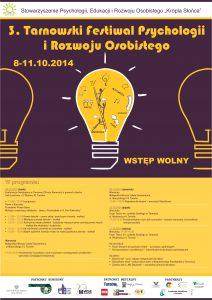 3. Festiwal Rozwoju Osobistego - plakat