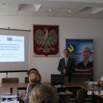 mgr Radosław Pyrek podczas wystąpienia