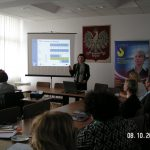 "Uczestnicy seminarium ""Praca w Europie"""