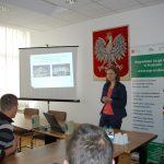 Mgr Anna Karaś podczas prelekcji