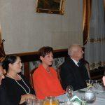 Rektor, Kanclerz, Wicekanclerz przy stole
