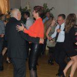 Tańczące pary, na pierwszym planie Rektor z Wicekanclerz