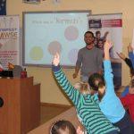 Uczniowie aktywnie uczestniczą w zajęciach