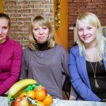 Dwie nowe Członkinie Koła wraz z_Wiceprzewodniczącą Martą Król-Blachą