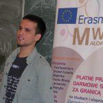 Zakończenie zimowej edycji Lekcji Europejskich w ZSO nr 1 w Tarnowie-Mościcach