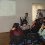 Studentka z Chorwacji prezentuje swoją uczelnię