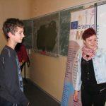 Petra uczy dzieci chorwackiego
