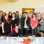 Studenci z Kierownikiem Katedry Nauk o Wychowaniu i opiekunem Koła