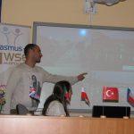 Studenci z Portugalii podczas prezentacji