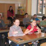 Uczniowe kl.5 SP 2 w Tarnowie