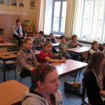 Uczniowe w czasie lekcji europejskich