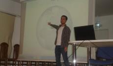 Prezentacja tureckiego studenta