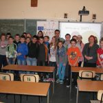 Zdjęcie grupowe kl 5 SP 2 w Tarnowie