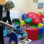 Dr Renata Smoleń prezentuje gabinet terapeutyczny
