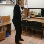 Dyrektor Powiatowej Poradni Psychologiczno-Pedagogicznej dr Renata Smoleń