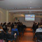 Uczestnicy spotkania ze studentem z Portugalii