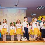 Dzieci z Przedszkola nr 8 podczas występu