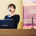 dr Barbara Klasińska podczas występienia
