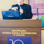 ks. prof. dr hab. Jacek Siewiora podczas wystąpienia